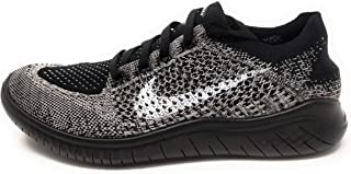 Womens Free RN Flyknit 2018 Running Athletic (7, Moon Particle/White-Black)