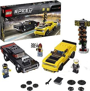 LEGO Speed Champions 75893 2018 Dodge Challenger SRT Demon & 1970 Dodge Charger R/T