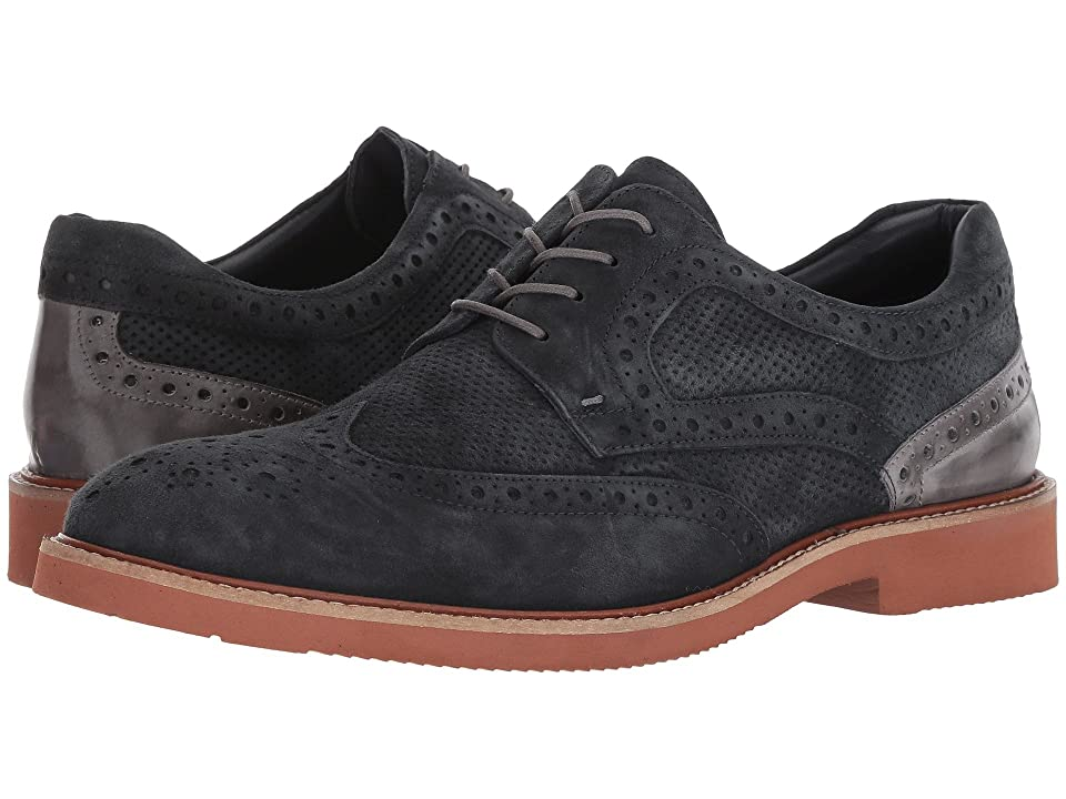 Kenneth Cole New York Shaw Lace-Up (Navy) Men