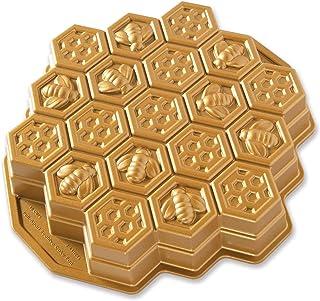 NordicWare 85437 Moule à gâteau Honeycomb, Fonte d'Aluminium