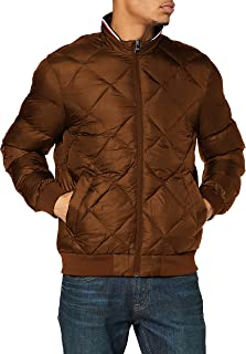 Tommy Hilfiger Men's Two Tones Padded Bomber Jacket