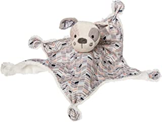 Mary Meyer Super Soft Stuffed Animal Security Blanket, Deco Pup, 13 x 13-Inches