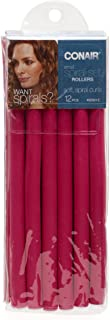 Conair Small Spiral Rollers, 12 Pack, Colors May Vary