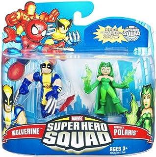 Marvel Superhero Squad Series 21 Mini 3 Inch Figure 2Pack Wolverine Polaris