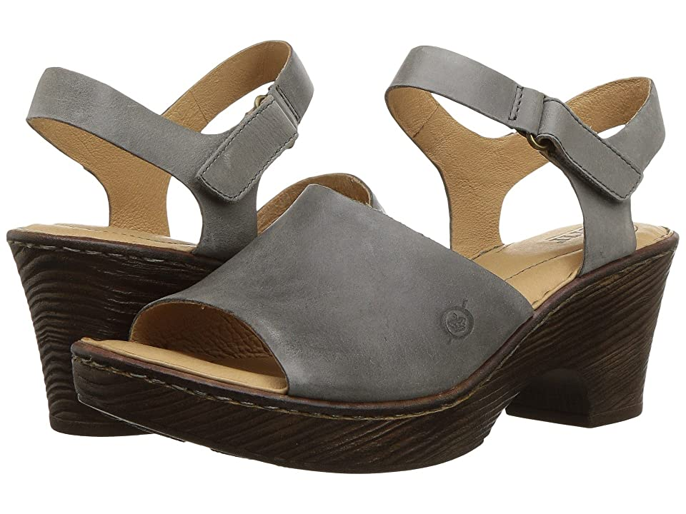 Born Canna (Grey Full Grain Leather) Women