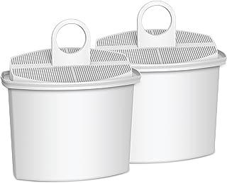 Waterdrop TÜV SÜD Certified KWF2 Coffee Water Filter, Compatible with Braun Brita KWF2, 3106, 3112, 3115, 3116, KF600, KF590E, KF580, KF550, KF190, KF187, KF155, KF150, KF140 (Pack of 2)