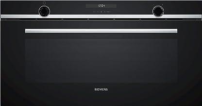 Horno - Siemens VB558C0S0, Multifunción, 85 L, Integrado, 90 cm, Precalenamiento rápido, Display LCD