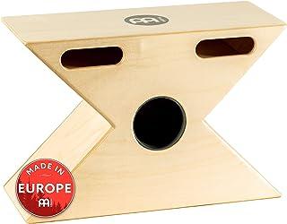 Meinl Hybrid Slaptop Cajon Box Drum with Snare and Bongo, Forward Sound Ports - MADE IN EUROPE - Baltic Birch Wood, 2-YEAR WARRANTY (HTOPCAJ3NT)