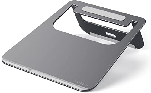 Satechi Lightweight Aluminum Portable Laptop Stand for MacBook, MacBook Pro, Microsoft Surface Pro and More (Space Gray)