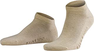 Falke Mens Sand Family Short Ankle Socks - Beige