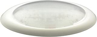 Gustafson L8003 RV/Auto Double Oval Dome Light - White, No Switch