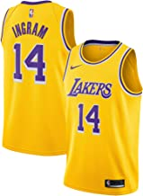 Nike NBA Icon Edition Authentic LA Lakers Brandon Ingram Game Jersey Size: Large