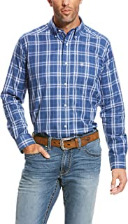 ARIAT Men's Fitted Long Sleeve Shirt
