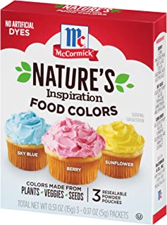 natural color food