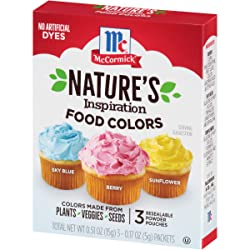 McCormick Nature's Inspiration Food Colors, 0.51 oz