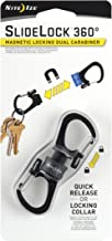 Nite Ize MSBL-09-R7 Carabiner, Pack of 1, Charcoal