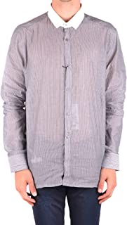 Luxury Fashion Mens MCBI34480 Grey Shirt   Season Outlet