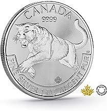 2016 1 oz Silver Canadian Predator Series Cougar $5 Royal Canadian Mint Uncirculated