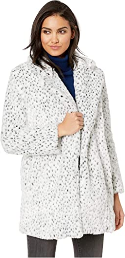 Cool Cat Snow Leopard Fur Coat