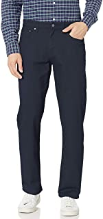 Men's Relaxed-fit 5-Pocket Stretch Twill Pant