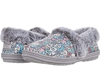 BOBS from SKECHERS Too Cozy Pooch Parade (Gray Multi) Women