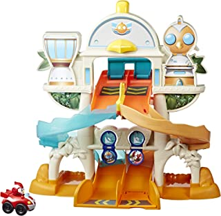 Top Wing Mission Ready Track Playset, Includes Ramp Jump & Double Vehicle Launcher Vehicles, Toy for Kids Ages 3 to 5
