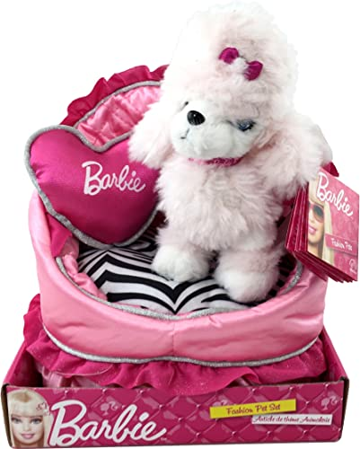 comprar marca Barbie Fashion Pet Sequin the Puppy with Own Bed Bed Bed and Pillow Plush by Barbie  entrega rápida