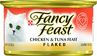 Fancy Feast Chicken And Tuna Cat Food, 3 Ounce