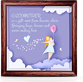 Joy Venue Godmother Gift | Best Godmother Gifts from Godchild or Goddaughter | Perfect Godmother Birthday Gift Ideas | Ideal for Room Decor