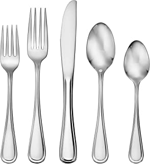 Liberty Tabletop Classic Rim 65 Piece Flatware Set for 12 Made in USA