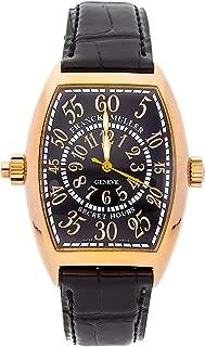 Franck Muller Secret Hours Mechanical (Automatic) Black Dial Mens Watch 7880 SE H II (Certified Pre-Owned)