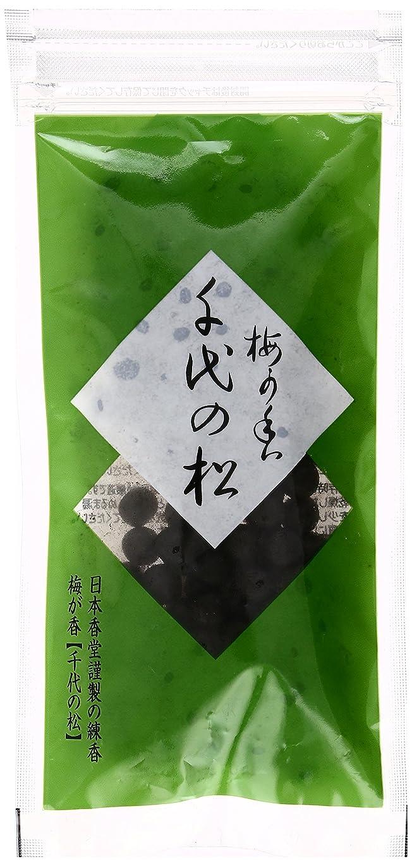 レンチ特に結論練香 千代の松 透明袋入