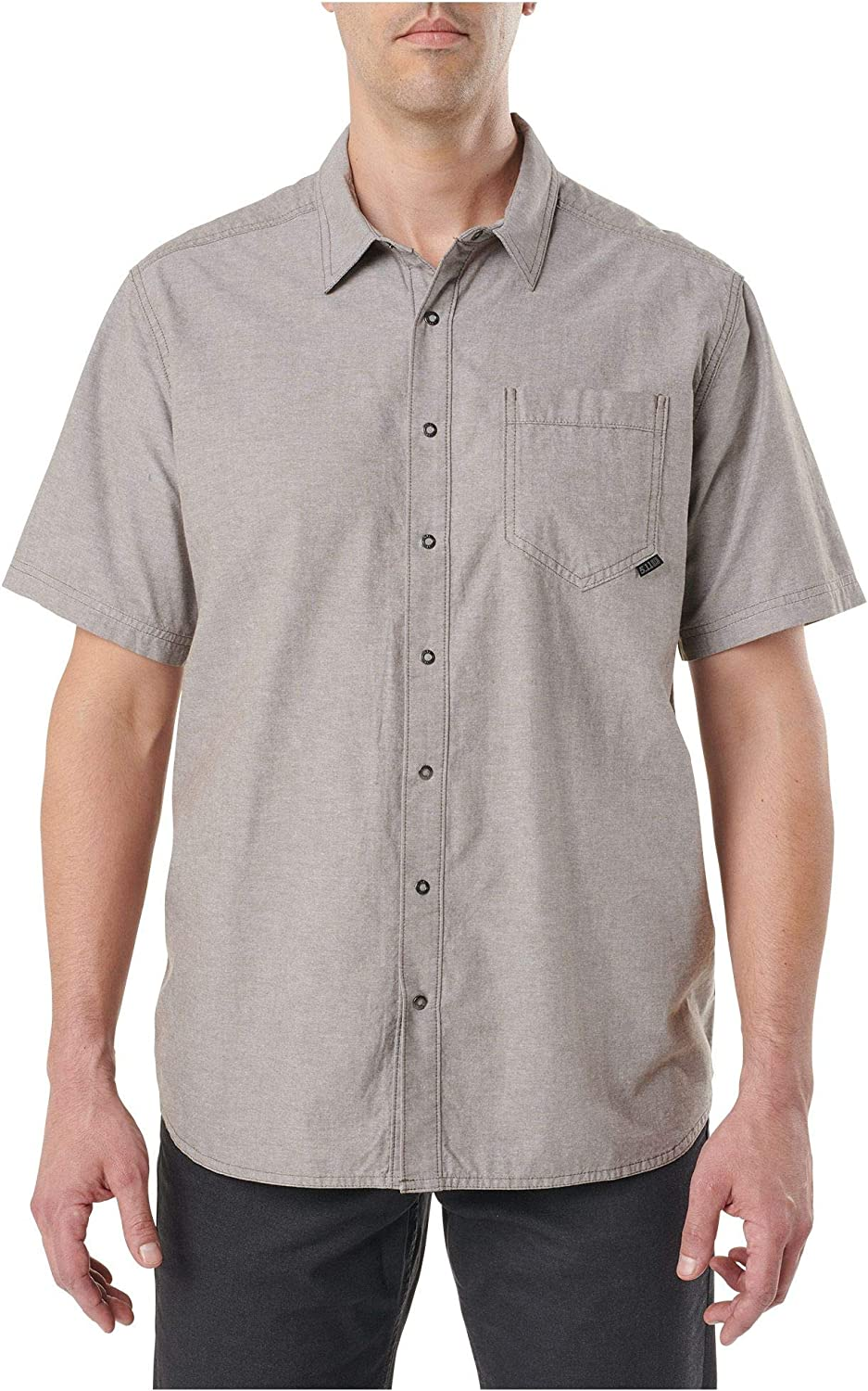 5.11 Tactical Men's Cotton Button-Down Ares Short Sleeve Button-Up Shirt,Style 71372