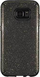 Speck Products CandyShell Cell Phone Case for Samsung Galaxy S7 Edge - Retail Packaging - Obsidian Gold/Black - 75868-5637