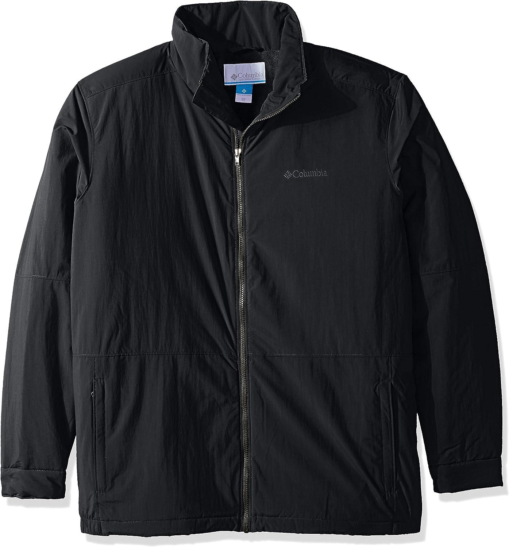 Columbia Men's Big-Tall Big & Tall Northern Bound Jacket, Black, 3X Tall