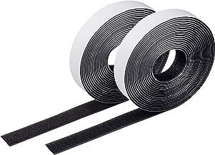 Meister Velcro rol - 20 mm breedte - zelfklevend - vrij op maat te snijden - stabiel & waterbestendig/lusjesband & haakban...