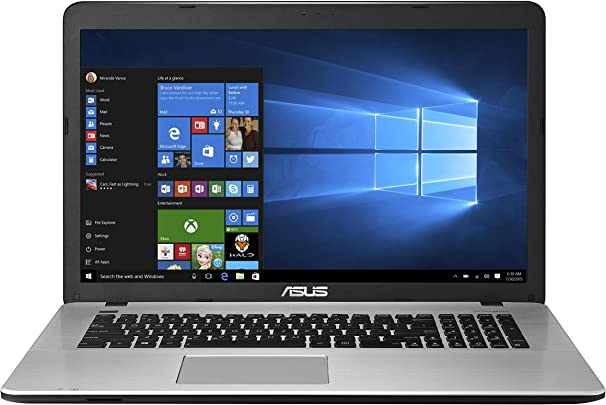 Asus F751LX-T4028T 43 94 cm 17 3 Zoll Laptop Intel core i7-5500U 8GB RAM 1000GB HDD NVIDIA GeForce GTX 950M DVD Win 10 Home schwarz Schätzpreis : 204,00 €