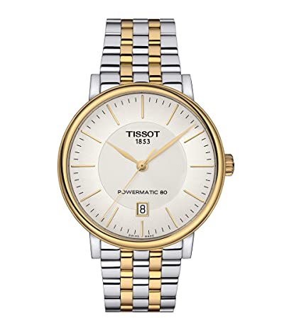 Tissot T-Classic Carson Premium Powermatic 80 T1224072203100 (Silver) Watches