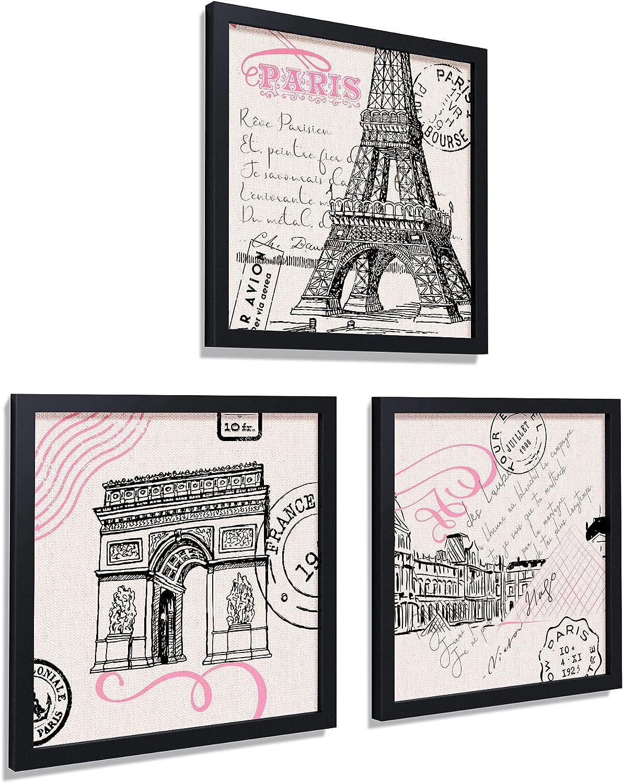 Paris Decor for Bedroom Set of Art 5 Phoenix Mall popular Framed 10