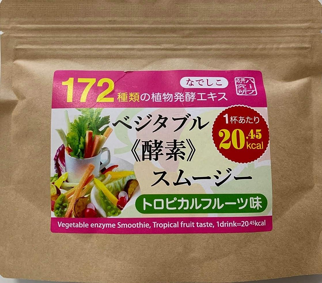ビリーヤギアナニバー掃くなでしこ ベジタブル酵素入り グリーンスムージー(トロピカルフルーツ味) (100g入り)