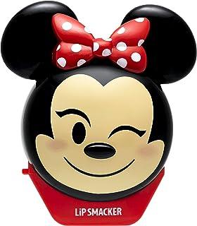 Lip Smacker Lip Smacker - Disney Emoji Flip Balms Collection - Minnie Burrocacao per Bambini - Gusto Fragola - Dolce Regal...