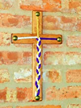 Wood Cross, Cord of Three Strands, Knot Ceremony, Rope Wedding, 20 Colors to choose from 14