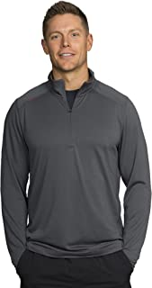 Rhone Sequoia Mens 1/4 Zip with Polartec Power Dry Anti-Odor Moisture Wicking Technology