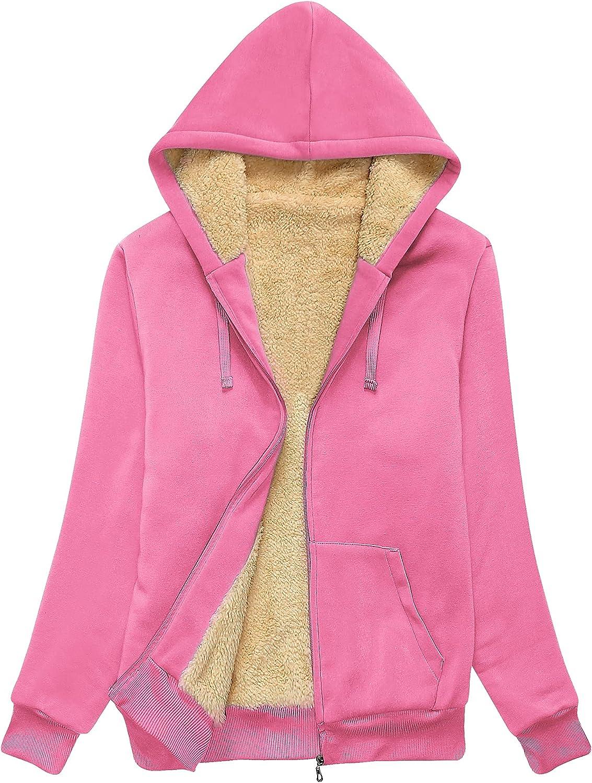SWISSWELL Hoodies for Women Winter Al sold out. - Fleece Seattle Mall Full Sweatshirt Zip
