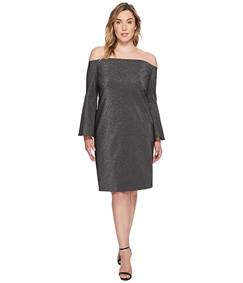 Vince Camuto Specialty Size Plus Size Off Shoulder Bell Sleeve ...