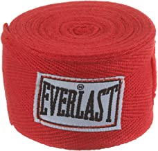 Everlast Unisex Adult 120 Inch Hand Wraps - Red, Free Size