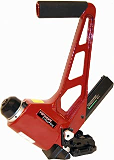 Porta-Nails 418A Pneumatic 18 Gauge Hardwood & Bamboo Floor Nailer with Adjustable Shoe For L-Cleat Nails