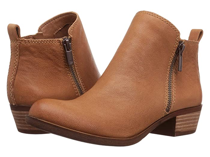 Lucky Brand  Basel (Wheat) Womens Zip Boots