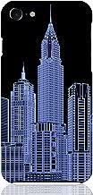 iPhone8 iPhone7 ハード ケース カバー 摩天楼 04 あまみ藤奈 高層ビル 都市