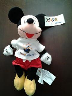 "Mickey Mouse Disney Bean Bag Plush Club Disney 8"""